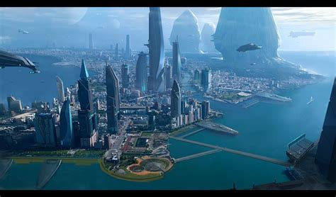 Nex Ii Image by Citizen Sci Fi Spaceship City F Wallpaper