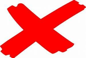 X Marks The Spot 2 Clip Art at Clker.com - vector clip art ...