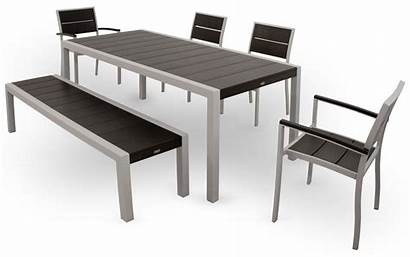 Furniture Outdoor Dining Trex Textured Charcoal Surf