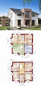 Modernes Haus Grundriss : modernes satteldach haus celebration 150 v9 bien zenker einfamilienhaus bauen moderne ~ Bigdaddyawards.com Haus und Dekorationen