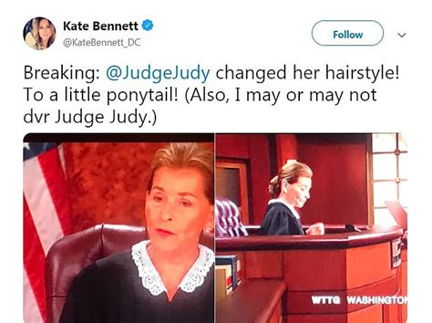 fans react  judge judy unveiling   hairstyle