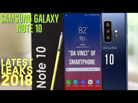 samsung galaxy note 10 da vinci samsung galaxy note 10 quot da vinci quot of smartphones what i so far not 10 youtube