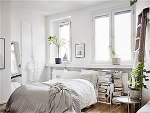 Deco Chambre Blanche : petite chambre blanche d co pur e simple ~ Zukunftsfamilie.com Idées de Décoration