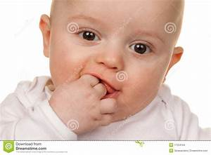 Face Of A Wondering Baby Stock Images - Image: 17254154