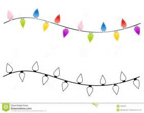string of christmas lights black and white clipart clipart suggest