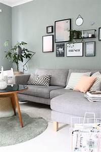 Ideen Fürs Wohnzimmer : wandfarbe wohnzimmer blau grau wandfarbe wohnzimmer graue couch trendige wandfarben wohnzimmer ~ Buech-reservation.com Haus und Dekorationen