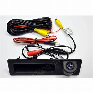 Just Installed The Bmw Trunk Handle Back Up Camera In Bmw 335i 2011
