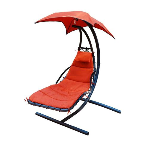 vivere 9 ft combo sunbrella hammock with steel stand in