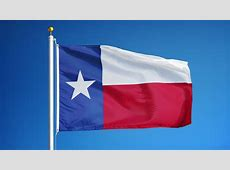 HD 1080p Clip With A Slow Motion Waving Flag Of Texas