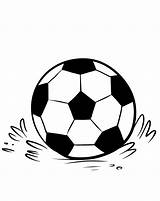 Soccer Coloring Pages Ball Printable Balls Sheet Template Stackbookmarks Info Bestcoloringpagesforkids sketch template