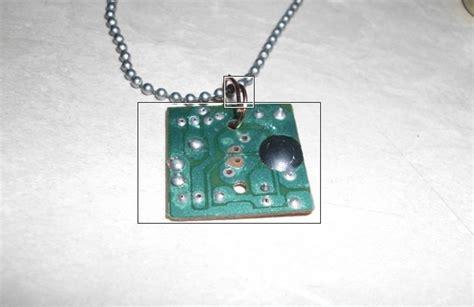 Kalung Dari Kristik membuat manik manik kalung dari pcb bekas zona cyber