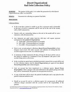 Desk Manual Template Draft Hostgarcia Collection Policy Template ...