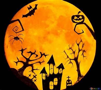 Halloween Clipart Clip Moon Biz Cc Torange