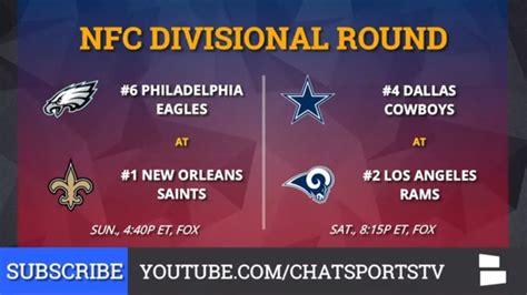 Nfc & Afc Playoff Schedule, Picture