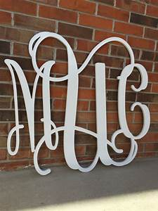 36 inch wooden monogram painted white wedding guestbook With 36 inch wooden letters