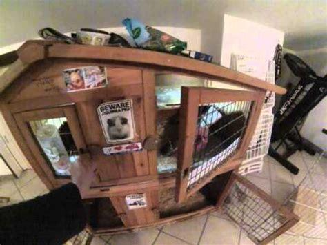 gabbia porcellini d india gabbia legno conigli e porcellini d india