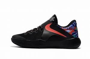 NIKE ZOOM LIVE 2017 EP black colorful men basketball shoes ...