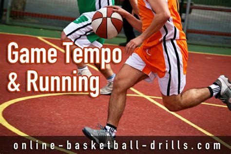 basketball drills tempo transition running game