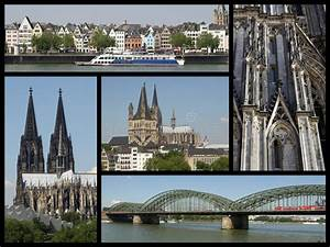 Cologne Landmarks Collage Stock Photo Image Of Urban