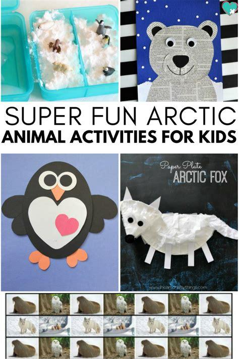arctic animal activities for autistic 333 | fun arctic animal pin