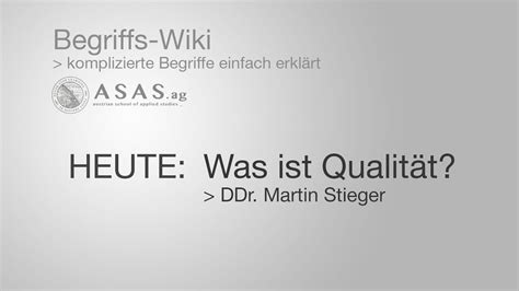 Qualitaets Ranking by Was Ist Qualit 228 T