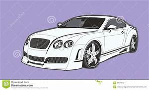 The Conceptual Car Stock Illustration