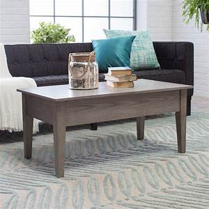 Turner, Lift, Top, Coffee, Table, -, Gray