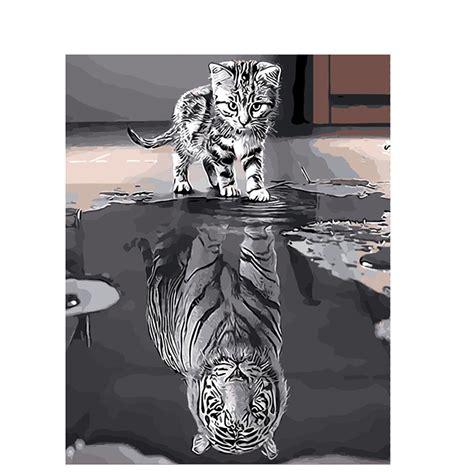 malen nach zahlen katze tiger malen nach zahlen eu