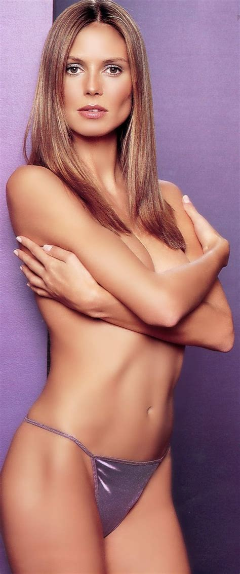 Heidi Klum For Victorias Secret Heidi Klum Beautiful