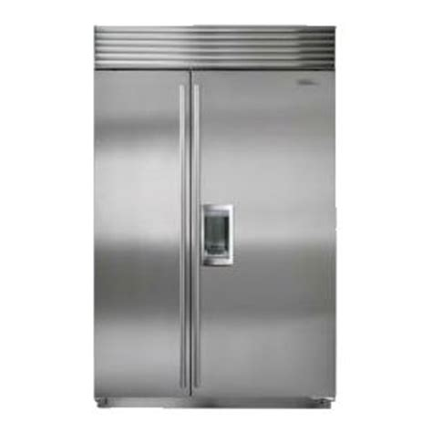 bi sdf fridge dimensions