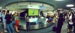 Advertising using Baggage Claim LCDs