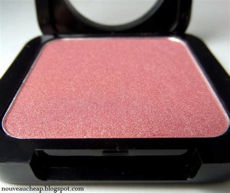 review nyx high definition blushes in crimson and