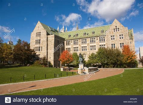 Boston College by Boston College Cus Chestnut Hill Massachusetts Stock