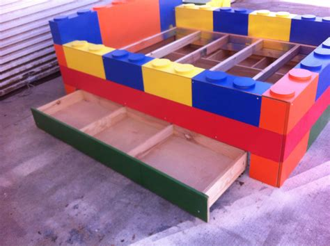 Buy A Handmade Lego Bed For Kids, Childs Lego Bed, Made To