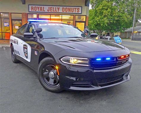 2015 Dodge Charger Pursuit Police Vehicle: View From the