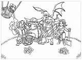 Clash Clans Coloriage Royale Clan Coloring Imprimer League Dibujos Legends Coloriages Zelda Colorier Pintar Colorir Jeux Colorear Imprimir Desenhos Enfants sketch template