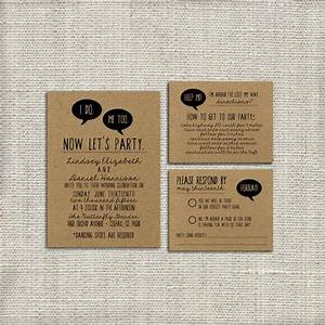 diy wedding invitation suite deposit printable custom With quirky diy wedding invitations