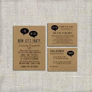 diy wedding invitation suite deposit printable custom With quirky diy wedding invitations