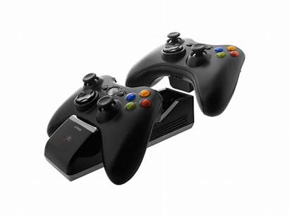 Charge Xbox 360 Base Nyko Controller Into