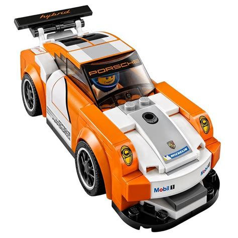 lego speed chions porsche lego speed chions sets 75912 porsche 911 gt finish line new