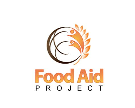 cuisine aid food aid project logo design