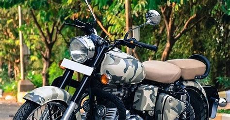 camouflage wrap  sv stickers  royal enfield