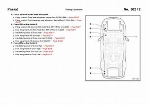 2012 Vw Passat Fuse Box Diagram