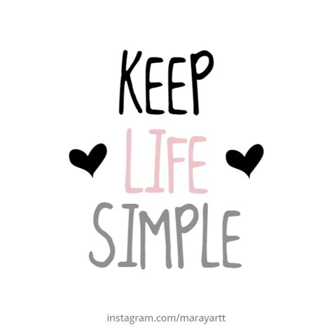 It's never simple to keep things simple. keep life simple #quote #quotes | Simple quotes, Girly quotes, I miss you quotes