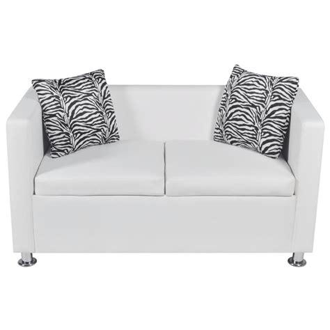 canapé 2 et 3 places cuir acheter set canapé 3 places 2 places et fauteuil cube en