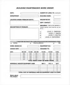 Work Order Form Template Excel Excel Work Order Template Rabitah