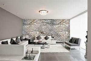 Ausgefallene Tapeten Wohnzimmer : moderne wohnzimmer tapeten tapeten wohnzimmer modern grau ~ A.2002-acura-tl-radio.info Haus und Dekorationen
