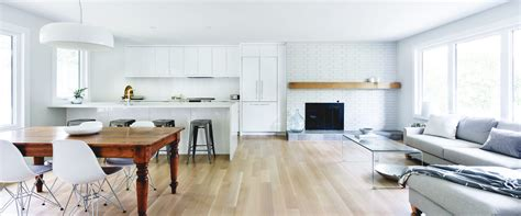 An Open Concept Kitchen & Living Space  Moneca Kaiser