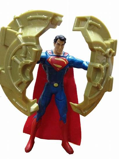 Steel Figures Action Robot Surface Superman Toy