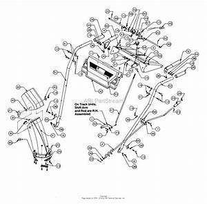 Mtd 315e740f000  1995  Parts Diagram For Handle Assembly